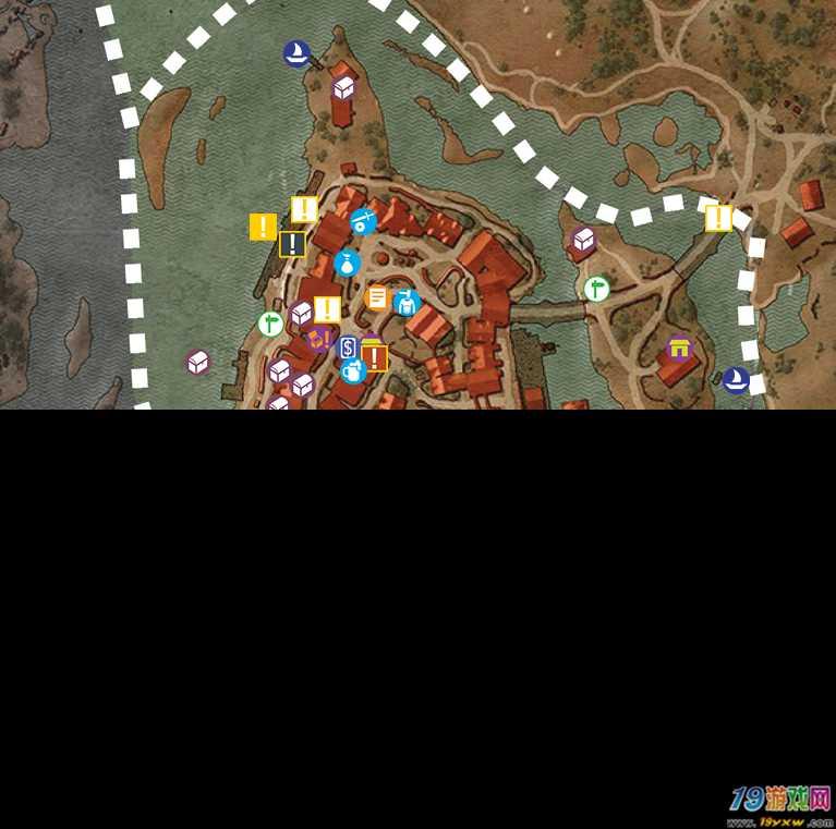 巫师3全物品收集地图一览