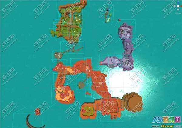 史莱姆牧场平面地图一览