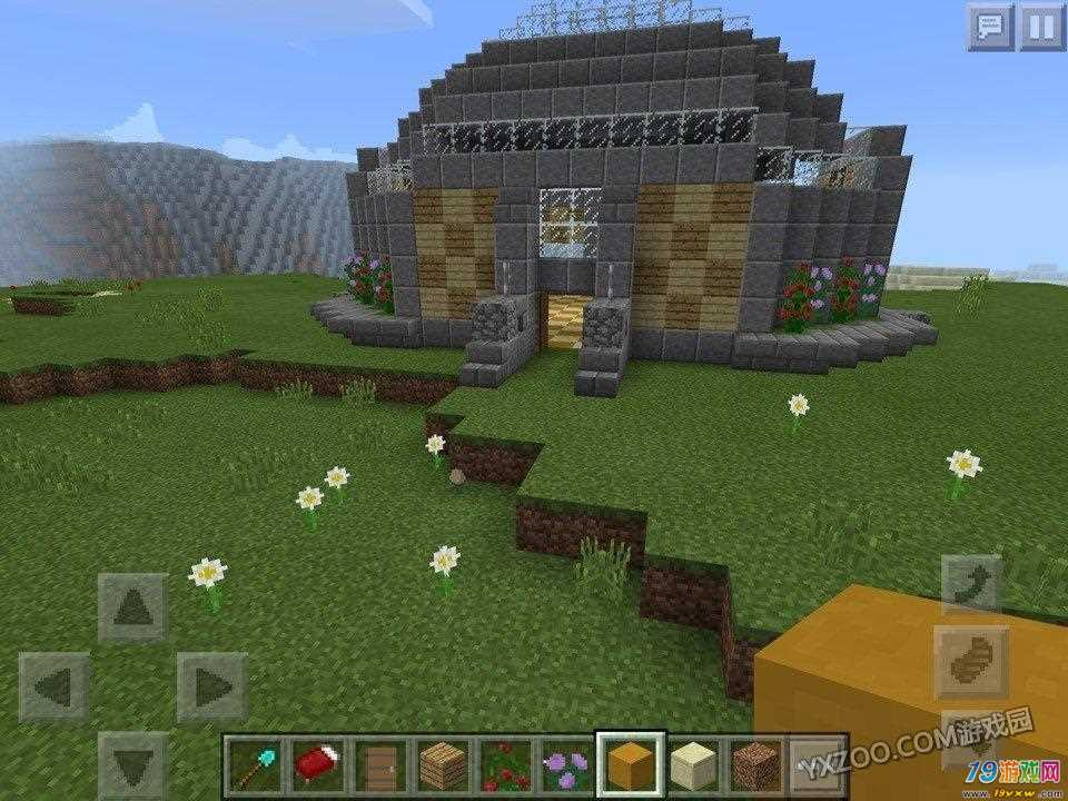 我的世界蛋糕小房子建筑地图下载图片